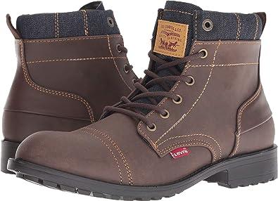 1d8c17494c6 Levi s¿ Shoes Men s Artesia UL Denim Brown Navy 8 D ...