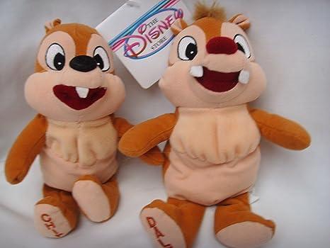 Amazon.com  Disney Chip   Dale Chipmunk Beanie Baby Plush Toy 8