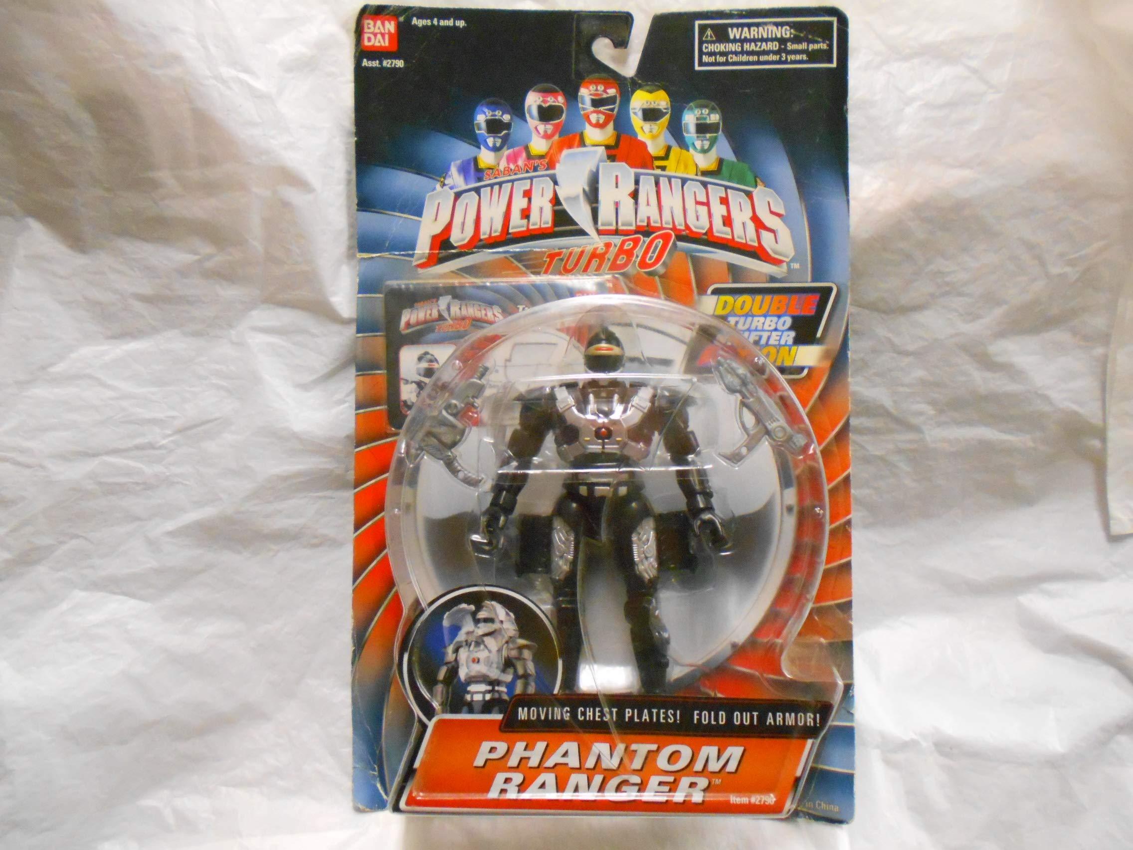 """Power Rangers Turbo Phantom Ranger 5.5"""" Action Figure"""