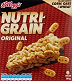 NUTRI-GRAIN Kelloggs Nutri-Grain Bars 144g (6 x 24g), 6 Count, Original
