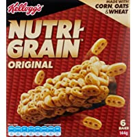 NUTRI-GRAIN Kelloggs Nutri-Grain Bars 144g (6 x 24g), 6 Count, Original