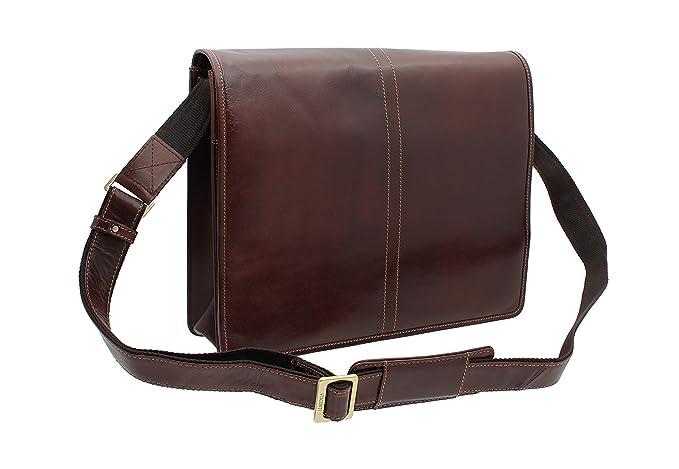 56b8bed28bf Visconti Aldo Vintage Tan Leather Briefcase VT7  Amazon.co.uk  Luggage