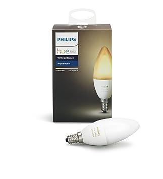 Philips Hue E14.Amazon Com Philips Hue White Ambiance E14 Led Kerze Erweiterung