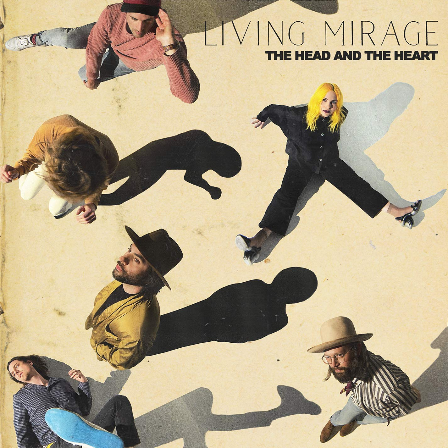 Image result for the head and the heart living mirage cover""
