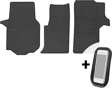 Gummimatten Auto Fußmatten Gummi Automatten Passgenau 3 Teilig Set Passend Für Man Tge Vw Crafter Ii Ab 2017 Auto