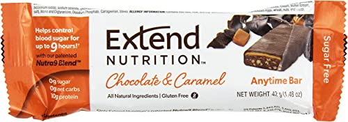 Extend Bar, Chocolate Caramel, 1.48 oz. Bars Pack of 15
