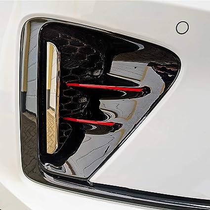 P055 Frontgrill Stripes Designline 10er Set Stripes Folien Set Kühlergrill Stoßstangen Folie Pastellorange Auto