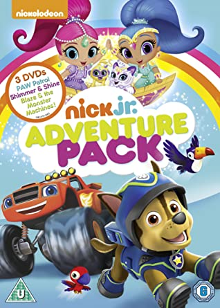 Nick Jr. Adventure Pack [DVD]: Amazon.co.uk: DVD & Blu-ray