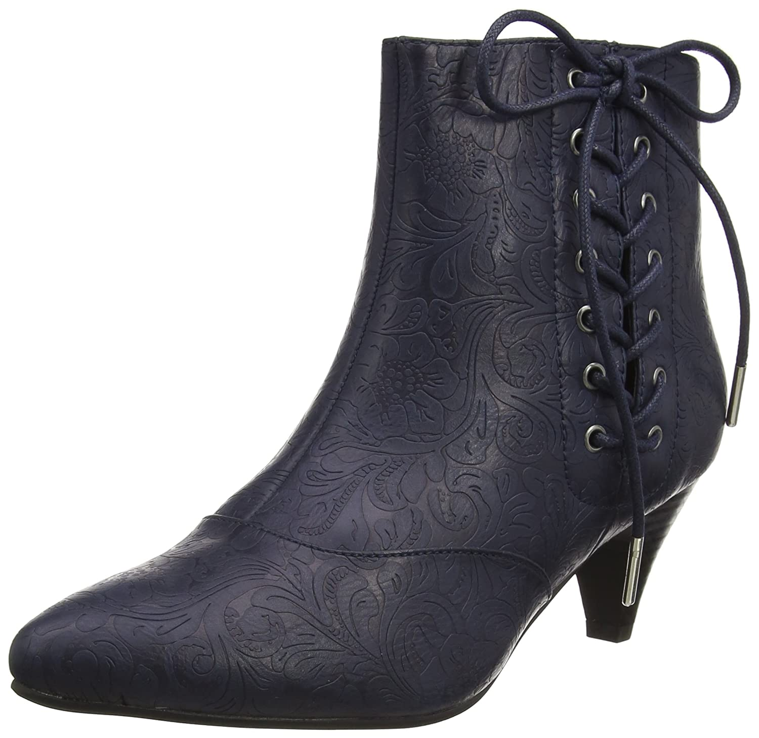 Blau (Midnight A) Joe brauns Damen Mystical Side Lace Ankle Stiefel Stiefel