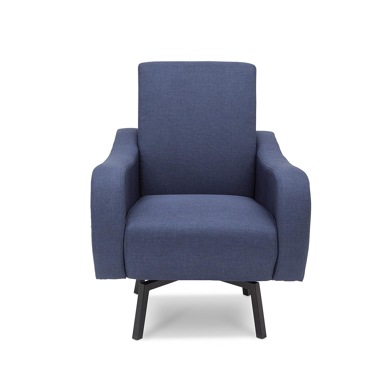Amazon Delta Children Lux Swivel Chair Steel Blue Baby