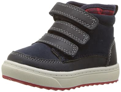 b9cea84e10a Oshkosh B'Gosh Boys' Primus Triple Strap High Top Shoes Sneaker