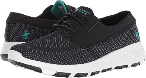 d48812a8cc3f Image Unavailable. Image not available for. Colour  Skechers Performance  Women s On-The-Go Boat Cool Black Turquoise ...