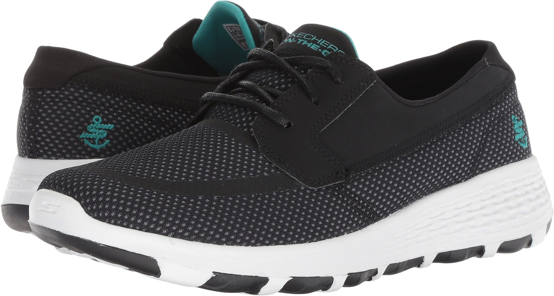 Skechers Performance Women's On-The-Go Boat Cool Black/Turquoise 6 B US