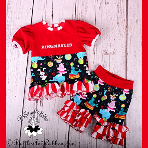 Size 5 Girls Outfits Girls Boutique Clothes Circus Outfit Circus Shirt