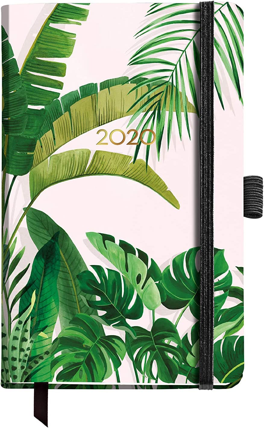 Miquelrius 31199 - Agenda 2020, Semana Vista Horizontal (90 x 140 mm), de bolsillo, Palm Beach, Castellano