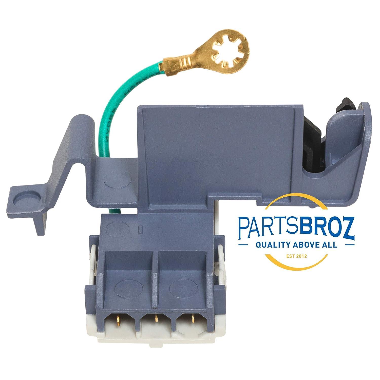 PartsBroz 8318084 - Interruptor de tapa para lavadoras Whirlpool ...