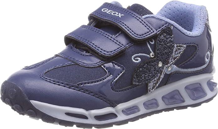 sociedad Dormido práctico  Geox J Shuttle Girl A, Zapatillas Niños: Amazon.es: Zapatos y complementos