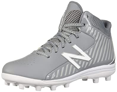 huge selection of 3a12f 339f5 New Balance Boys  Rush V1 Speed Lacrosse Shoe Grey 4 W US Big Kid