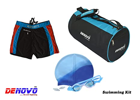 DeNovo Cap Goggle Bag Trunk  3XL  Swimming Kit