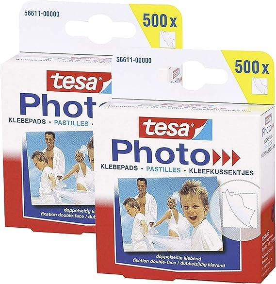 Big Pack mit 500 Stück tesa Photo Klebepads