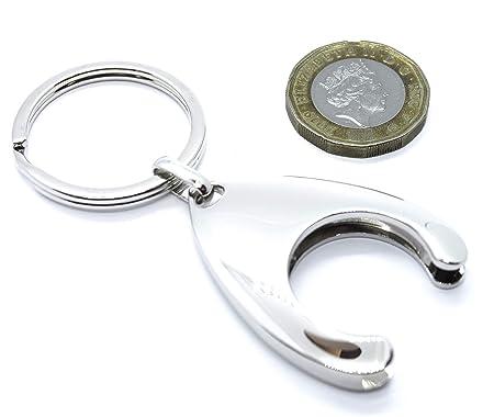 HARTS Llavero con Soporte para Moneda de Carro de la Compra ...