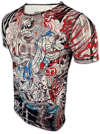 Men s Designer T Shirt Dragon Master by CHAQUETERO Horiyoshi III ... 6d475c1ee9d7