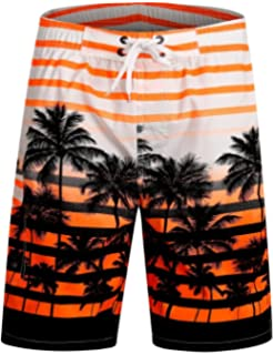 da51269990 APTRO Men's Swim Trunks Quick Dry Bathing Suits Beach Holiday Party Board  Shorts