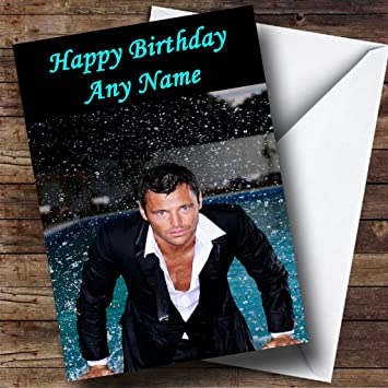 Personalised Mark Wright Towie Birthday Card Amazon Office