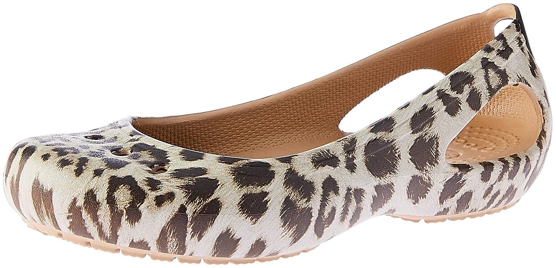 Crocs Women's Kadee Graphic Ballet Flat