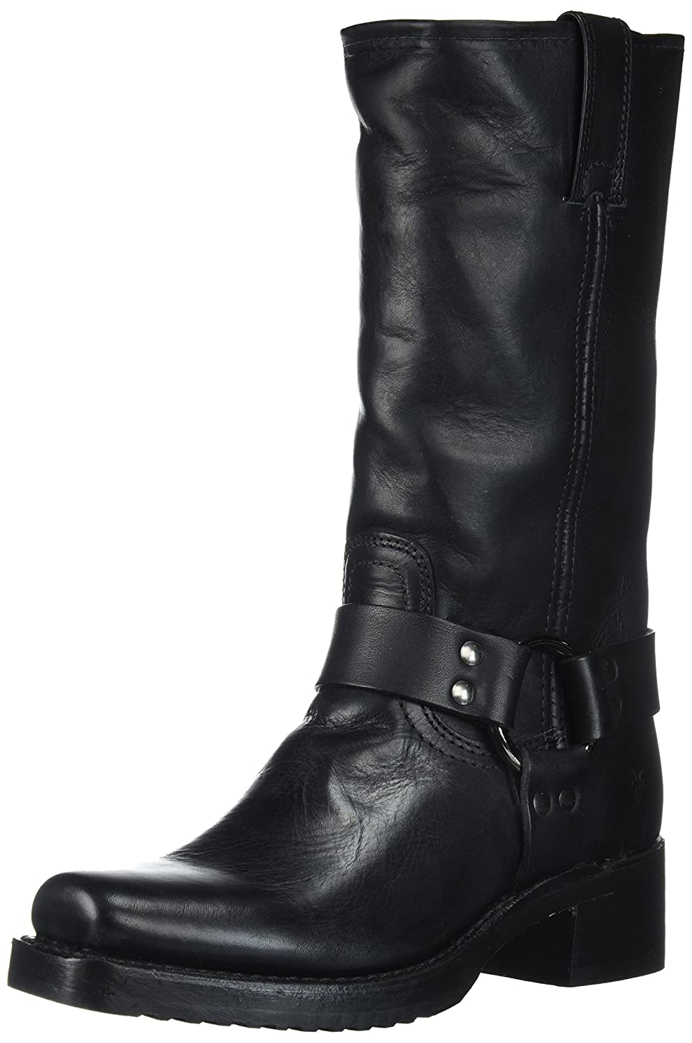 FRYE Women's Heirloom Tall Harness Boot B01N1A3U76 6.5 B(M) US|Black