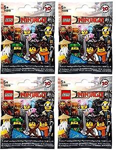 LEGO The Ninjago Movie Minifigures - Random Pack of 4 (71019)