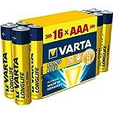 Varta - Pile Alcaline - AAA x 16 - Longlife (LR03)