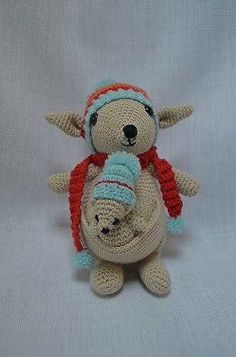 Crochet Kangaroo Amigurumi - Video Tutorial - Crochet Kingdom | 500x331