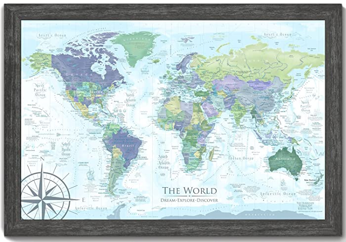 Amazon world map push pin the humboldt world map includes world map push pin the humboldt world map includes amazing geographical references use as gumiabroncs Image collections