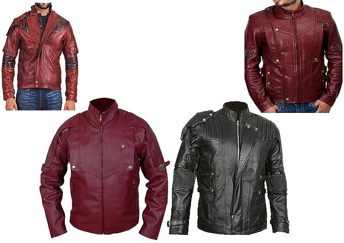 Western Fashions Chris Pratt Guardianes DE LA Chaqueta ROJA Galaxy ...