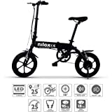 Nilox E Bike X2 Plus, Electric Bike, Black, One Size