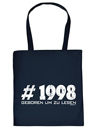 18th Birthday Gift Bag Hashtag 1998