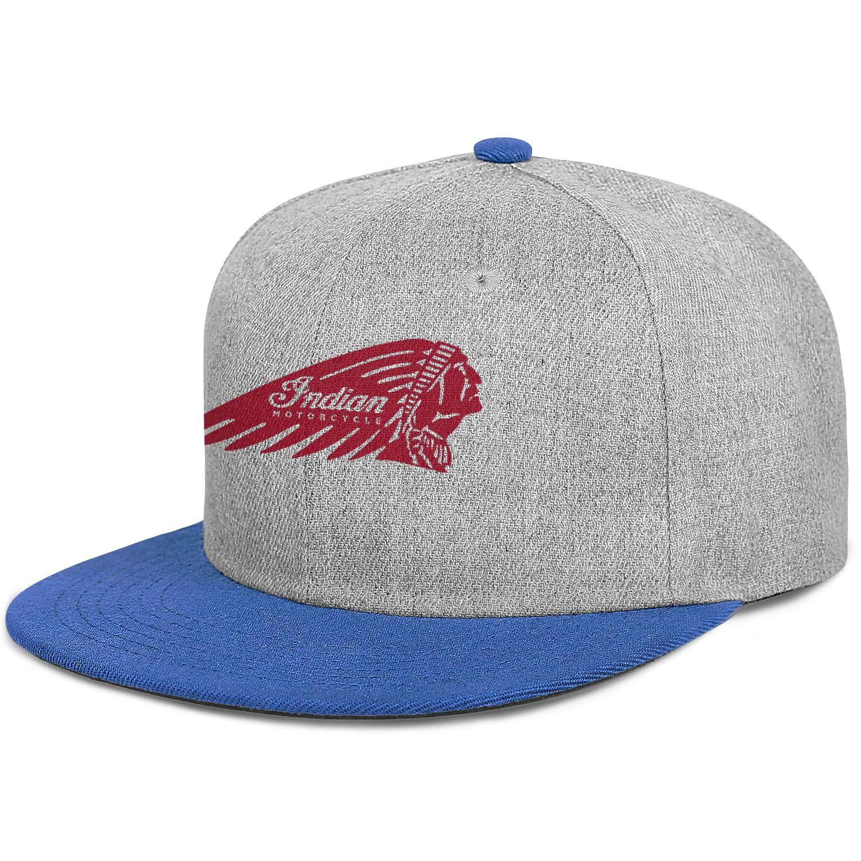 sdfjkoinj Man Mens Indian-Motorcycles-logp Baseball Cap Popular Hip Hop Caps Sport Hat Leisure Time Snapback Hat Mens Trucker Hats