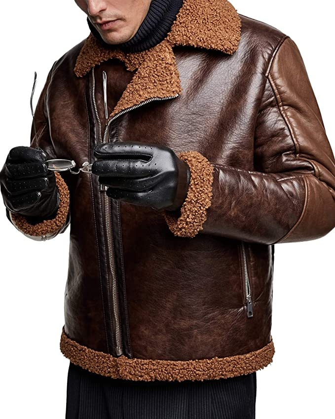 b89ef67f Zara Men Contrasting Biker Jacket 8178/305 at Amazon Men's Clothing store: