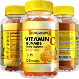 120 Vitamin C Gummies Immune Support- Kosher, Vegan, Halal, 520 mg VIT C with Rose Hips Blend, Potent Health Immunity…