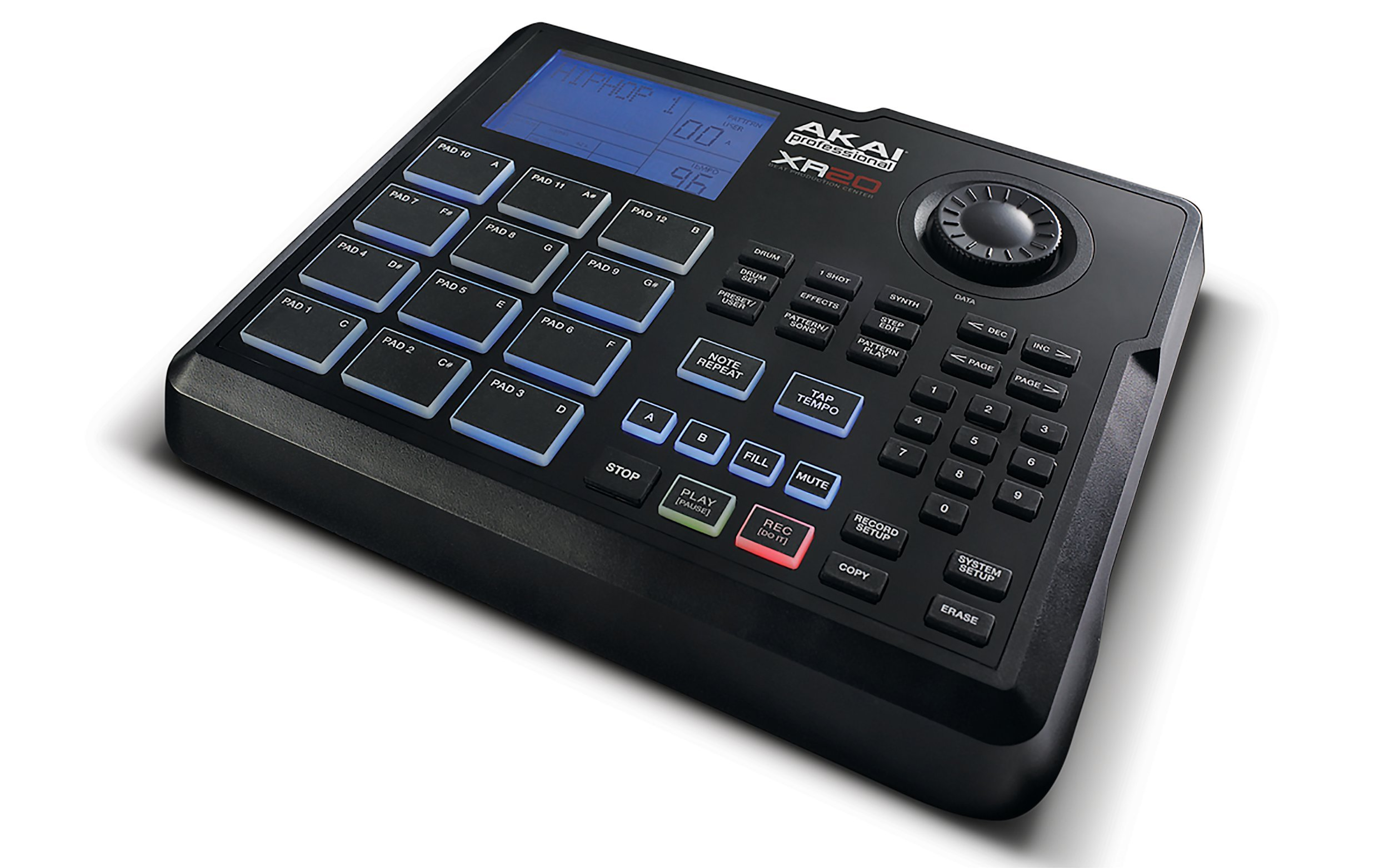 Akai Professional XR20 | Beat Production Station Drum Machine with 12 Trigger Pads, Note Repeat, and 700 Sounds by Akai Professional