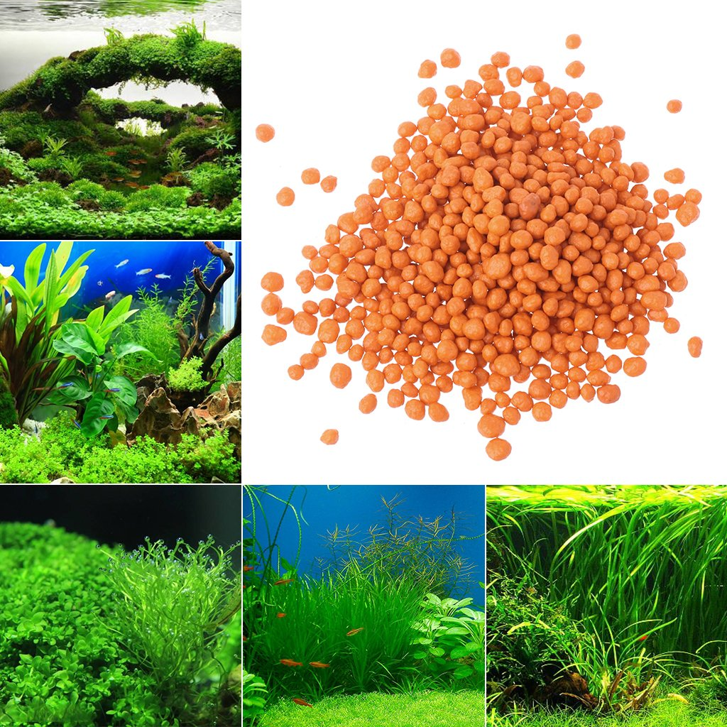 Daxibb Aquarium Plant Substrate Root Fertilizer Ball Tabs Mini Pond Micro Nutrition