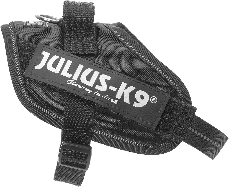 Noir Taille Mini-Mini Julius-K9 Harnais pour chien