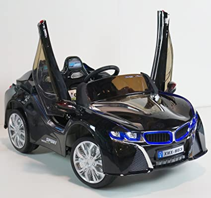 Amazon Com New Bmw Style Sports Kid S Electric Car Musical Big