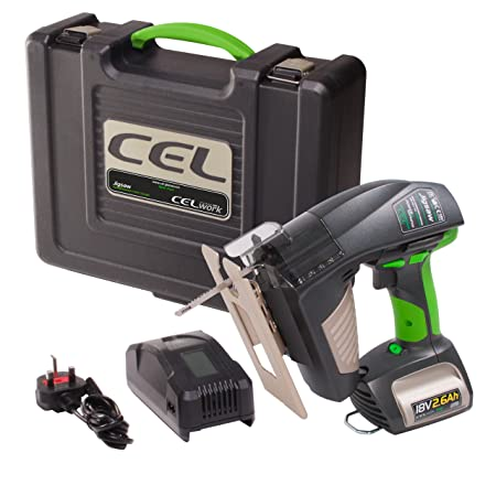 CEL 14.4V Li-Ion Cordless Multi-tool with Blades Charger Battery
