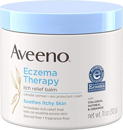 Aveeno Active Naturals Eczema Therapy Itch Relief Balm 11 oz