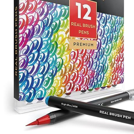 Arteza Pennarelli Acquerello Professionali Da Disegno Brush Pen Set