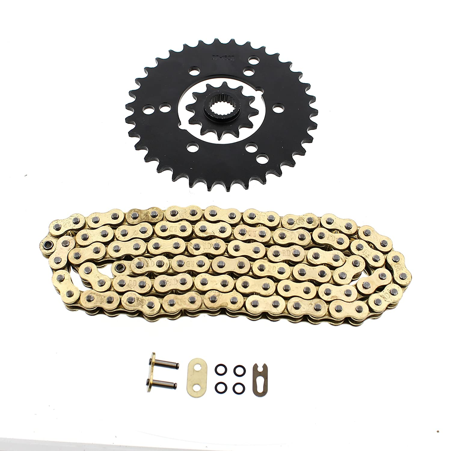 1994-1995 Complete Chain and Sprocket Set Polaris 300 4x4