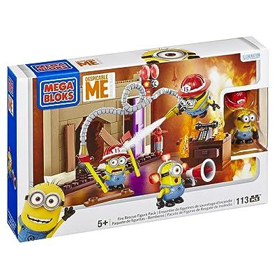 Mega Bloks Despicable Me Fire Rescue: Toys & Games