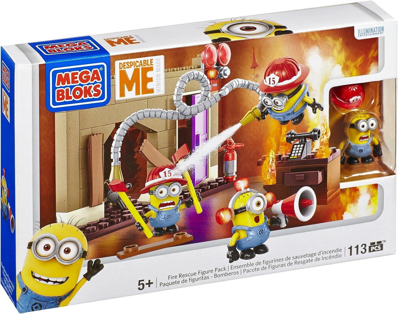 Gru: Mi Villano Favorito - Bomberos al Rescate (Mattel CNC81): Amazon.es: Juguetes y juegos